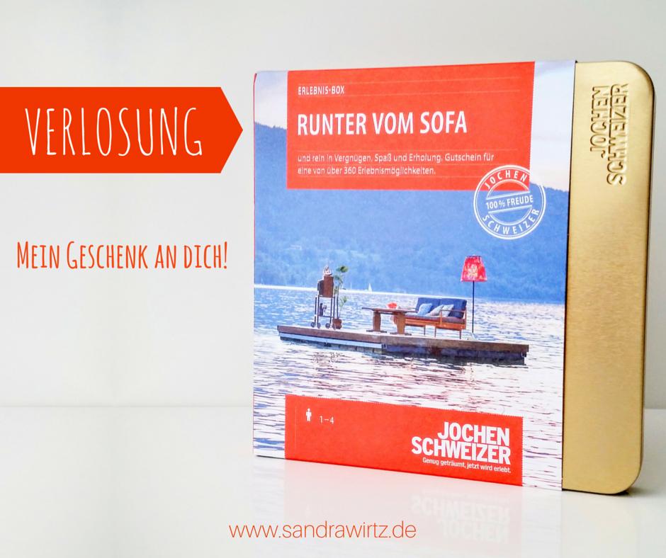 Gutschein Erlebnis Box Runter vom Sofa Sandra Wirtz